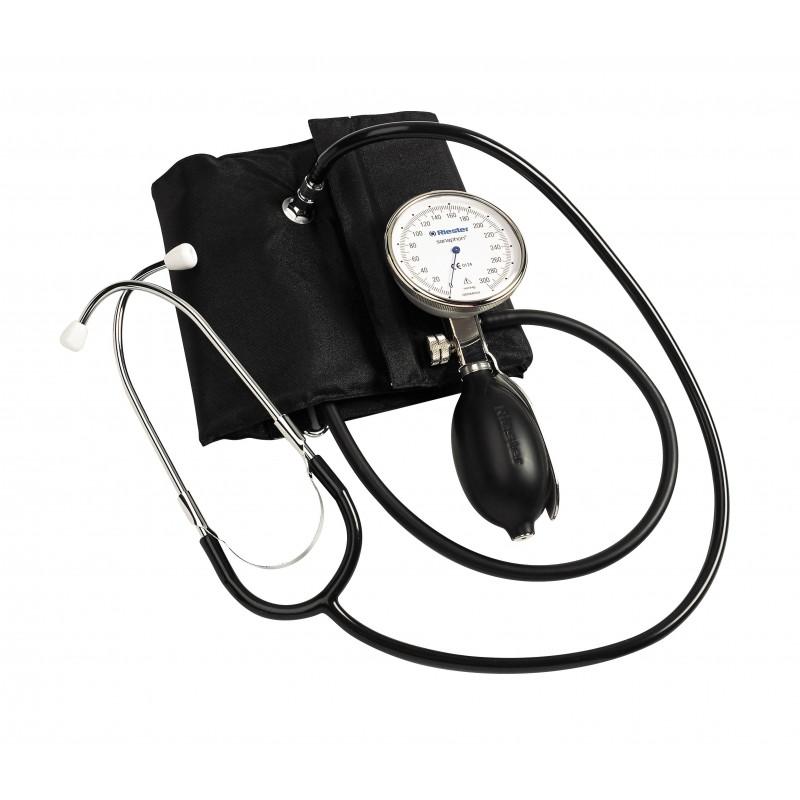 Tensiometru mecanic Riester sanaphon cu stetoscop inclus - RIE1442-142