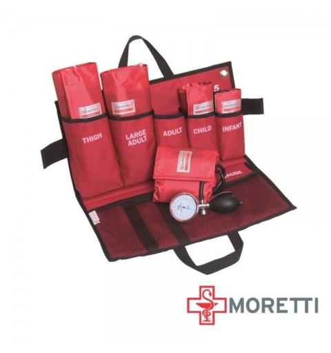 Kit de urgenta tensiometru aneroid mecanic MORETTI - MEM905